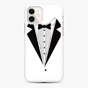 Tux Red iPhone 11 Case, White Rubber Case | Webluence.com