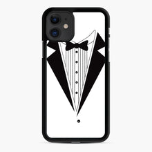Load image into Gallery viewer, Tux Red iPhone 11 Case, Black Rubber Case | Webluence.com