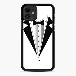 Tux Red iPhone 11 Case, Black Rubber Case | Webluence.com