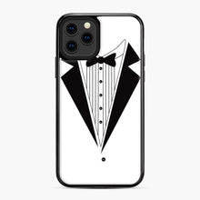 Load image into Gallery viewer, Tux Red iPhone 11 Pro Case, Black Plastic Case | Webluence.com
