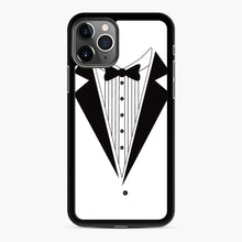 Load image into Gallery viewer, Tux Red iPhone 11 Pro Case, Black Rubber Case | Webluence.com