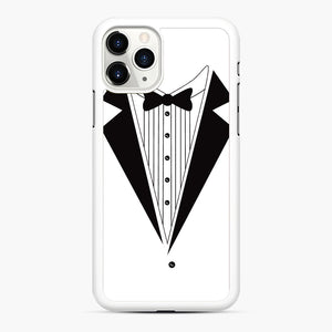 Tux Red iPhone 11 Pro Case, White Rubber Case | Webluence.com