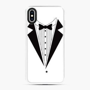 Tux Red iPhone XS Max Case, White Plastic Case | Webluence.com