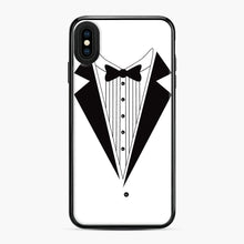 Load image into Gallery viewer, Tux Red iPhone XS Max Case, Black Plastic Case | Webluence.com