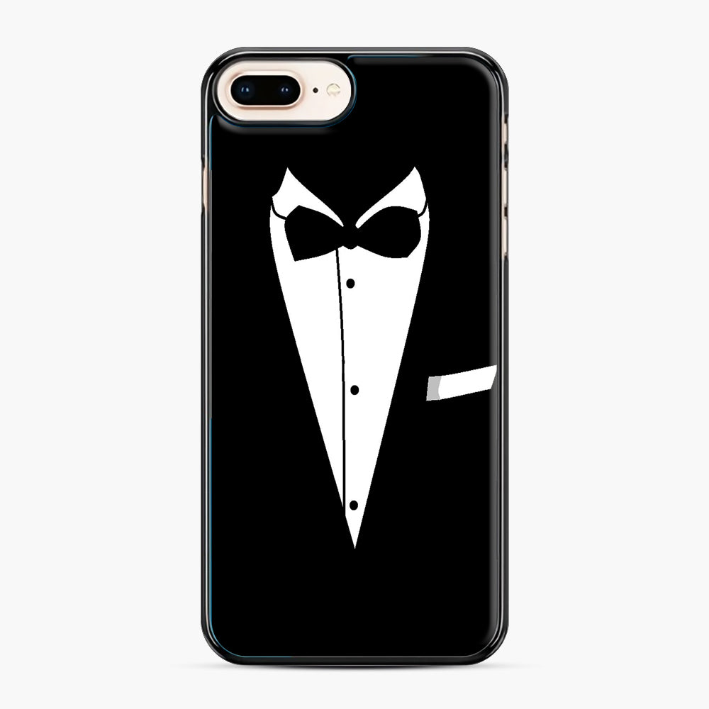 Tux Wedding iPhone 7,8 Plus Case, Black Plastic Case | Webluence.com