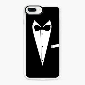 Tux Wedding iPhone 7,8 Plus Case, White Rubber Case | Webluence.com
