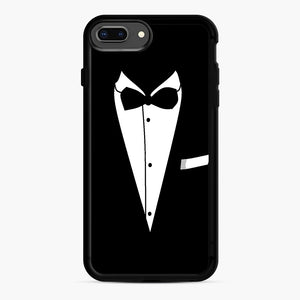 Tux Wedding iPhone 7,8 Plus Case, Black Rubber Case | Webluence.com