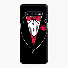Load image into Gallery viewer, Tuxedo Anzug Samsung Galaxy S10 Plus Case, Snap Case | Webluence.com