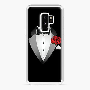 Tuxedo Fancy Dress Samsung Galaxy S9 Plus Case, White Plastic Case | Webluence.com