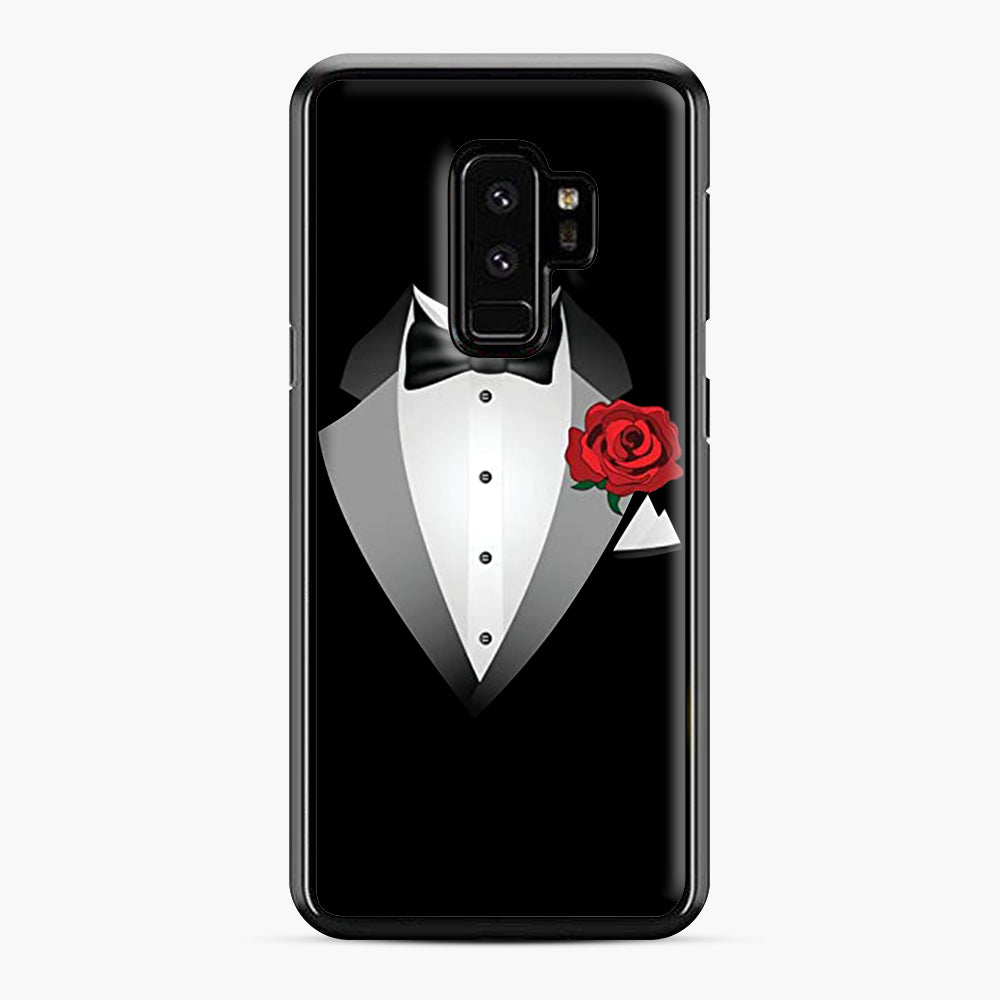 Tuxedo Fancy Dress Samsung Galaxy S9 Plus Case, Black Plastic Case | Webluence.com
