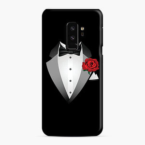 Tuxedo Fancy Dress Samsung Galaxy S9 Plus Case, Snap Case | Webluence.com