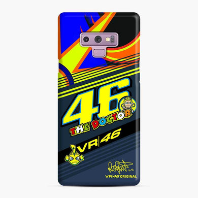 Valentino Rossi The Doctor Logo Moto GP 5 Samsung Galaxy Note 9 Case, Snap Case