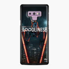 Load image into Gallery viewer, Vampire The Masquerade Bloodlines 2 1 Samsung Galaxy Note 9 Case, Black Plastic Case