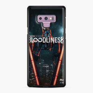Vampire The Masquerade Bloodlines 2 1 Samsung Galaxy Note 9 Case, Black Plastic Case