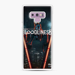 Vampire The Masquerade Bloodlines 2 1 Samsung Galaxy Note 9 Case, White Plastic Case