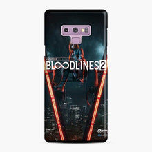 Load image into Gallery viewer, Vampire The Masquerade Bloodlines 2 1 Samsung Galaxy Note 9 Case, Snap Case