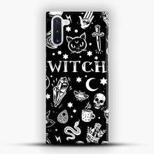 Load image into Gallery viewer, WITCH PATTERN Samsung Galaxy Note 10 Case, Snap Case | Webluence.com