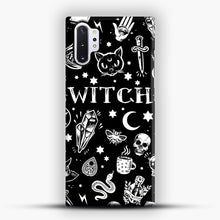 Load image into Gallery viewer, WITCH PATTERN Samsung Galaxy Note 10 Plus Case, Snap Case | Webluence.com