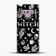 Load image into Gallery viewer, WITCH PATTERN Samsung Galaxy Note 9 Case, Snap Case | Webluence.com