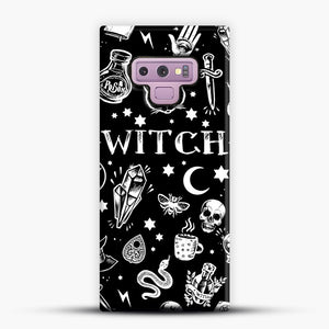 WITCH PATTERN Samsung Galaxy Note 9 Case, Snap Case | Webluence.com