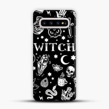Load image into Gallery viewer, WITCH PATTERN Samsung Galaxy S10 Plus Case, Snap Case | Webluence.com