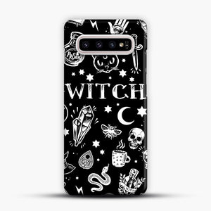 WITCH PATTERN Samsung Galaxy S10 Plus Case, Snap Case | Webluence.com