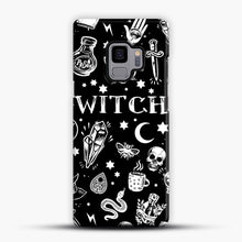 Load image into Gallery viewer, WITCH PATTERN Samsung Galaxy S9 Case, Snap Case | Webluence.com