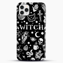 Load image into Gallery viewer, WITCH PATTERN iPhone 11 Pro Case, Snap Case | Webluence.com