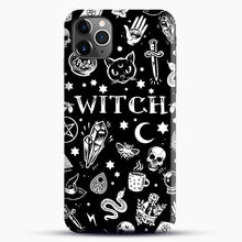 Load image into Gallery viewer, WITCH PATTERN iPhone 11 Pro Max Case.jpg, Snap Case | Webluence.com