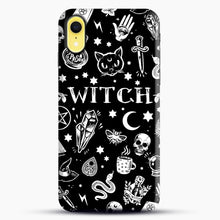 Load image into Gallery viewer, WITCH PATTERN iPhone XR Case, Snap Case | Webluence.com