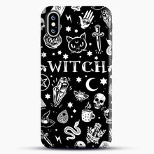 Load image into Gallery viewer, WITCH PATTERN iPhone XS Max Case, Snap Case | Webluence.com