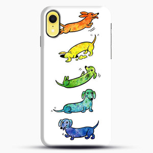 Watercolor Dachshunds iPhone XR Case, Snap Case | Webluence.com