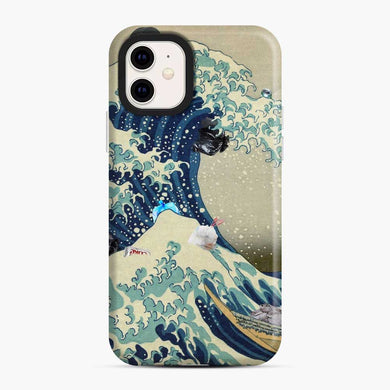 Wave Off Kanagawa Pollution iPhone 11 Case, Snap Case
