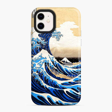 Waves From The Land Of The Rising Sun iPhone 11 Case, Snap Case