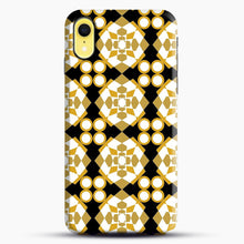 Load image into Gallery viewer, White Gold Pattern iPhone XR Case, Snap Case | Webluence.com