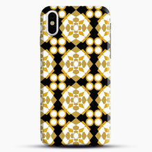 Load image into Gallery viewer, White Gold Pattern iPhone X/XS Case, Snap Case | Webluence.com