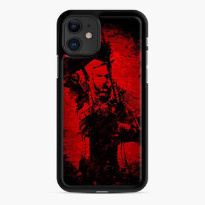 Wolf The Witcher 3 Wild Hunt iPhone 11 Case, Black Rubber Case