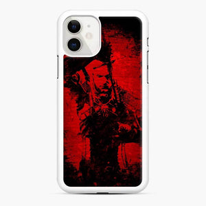 Wolf The Witcher 3 Wild Hunt iPhone 11 Case, White Rubber Case