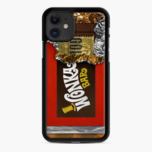 Load image into Gallery viewer, Wonka Chocolate Bar With Golden Ticket iPhone 11 Case