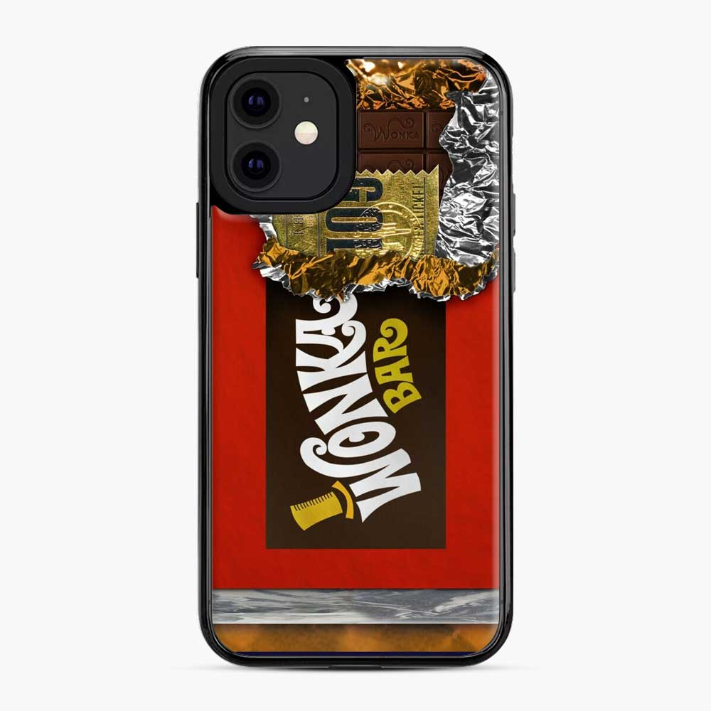 Wonka Chocolate Bar With Golden Ticket iPhone 11 Case