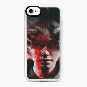 Wraith Distorted Fortnite iPhone 7 / 8 Case, White Rubber Case