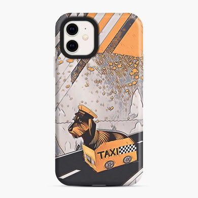Yellow Taxi iPhone 11 Case, Snap Case