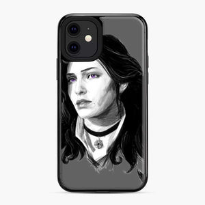Yennifer From The Witcher 3 Wild Hunt Game iPhone 11 Case, Black Plastic Case