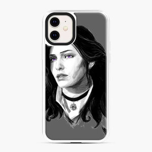 Yennifer From The Witcher 3 Wild Hunt Game iPhone 11 Case, White Plastic Case