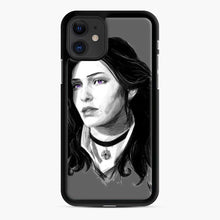 Load image into Gallery viewer, Yennifer From The Witcher 3 Wild Hunt Game iPhone 11 Case, Black Rubber Case