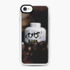 Zombie Lego iPhone 7 / 8 Case, White Rubber Case
