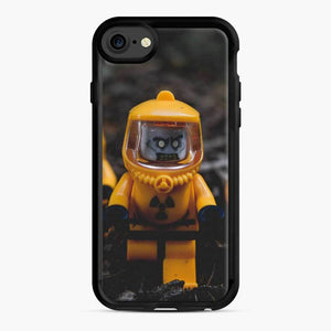 Zombie Mayhem Lego iPhone 7 / 8 Case, Black Rubber Case