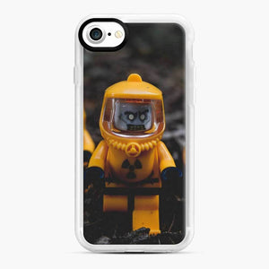 Zombie Mayhem Lego iPhone 7 / 8 Case, White Rubber Case