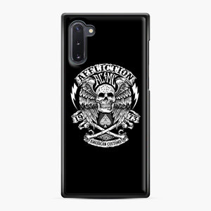 affliction American Custom 1973 Samsung Galaxy Note 10 Case, Black Plastic Case | Webluence.com