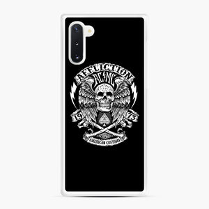 affliction American Custom 1973 Samsung Galaxy Note 10 Case, White Rubber Case | Webluence.com